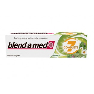 BLEND-A-MED    7 COMPLETE HERBAL  PASTA DO ZEBOW  125 ML.