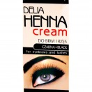 Delia- Henna do brwi i rzęs Czarna Cream 2ml