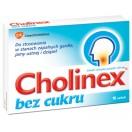 GSK CHOLINEX BEZ CUKRU 16 PASTYLEK