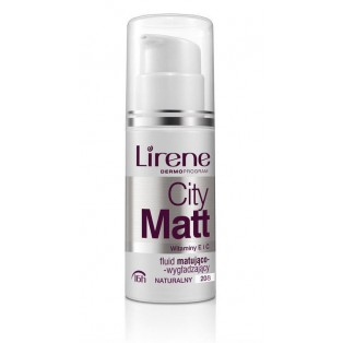 LIRENE CITY MATT FLUID  #208 30ml