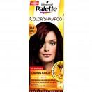 Palette- COLOR SHAMPOO -244 czekoladowy brąz 50ml+10ml x 2