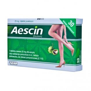 AESCIN  30 TABLETEK                                        TEVA