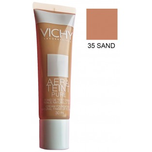 VICHY AERATEINT PURE FLUID   #35     DO SKORY SUCHEJ          30 ML.